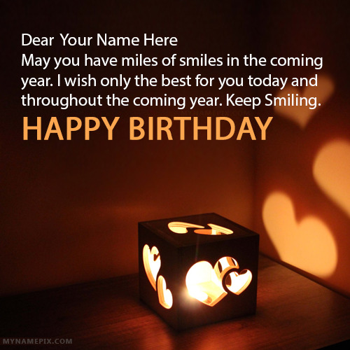 Best Birthday Wishes With Name