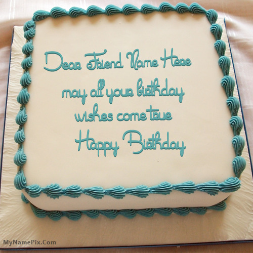 Excellent Birthday Cake With Wish With Name Funny Birthday Cards Online Hetedamsfinfo