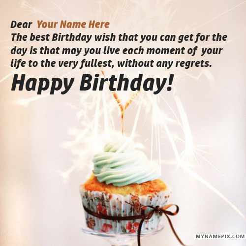 Birthday Wishes for Lover With Name