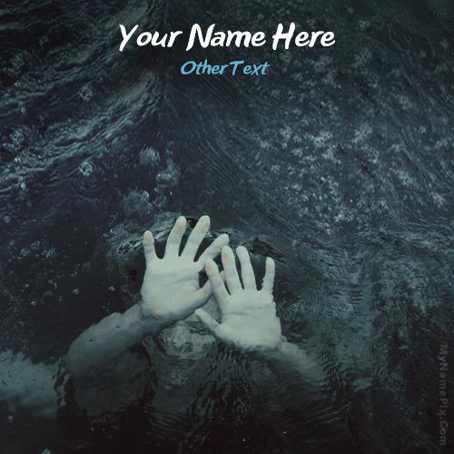Drowning Girl With Name