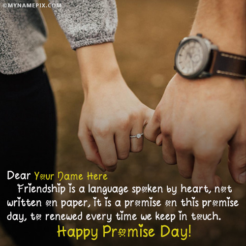 Happy Promise Day Quotes With Name