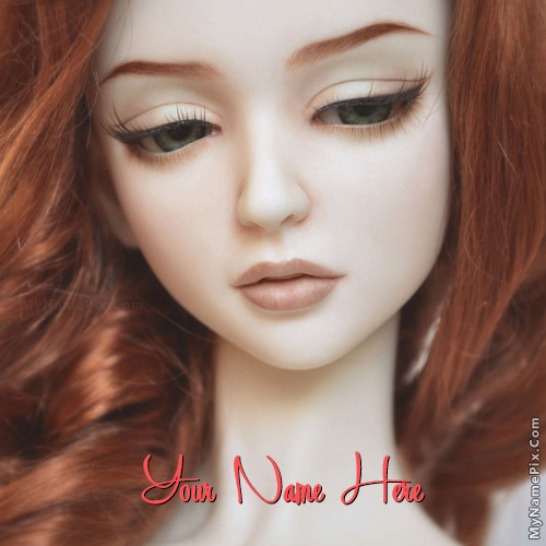 Beautiful Redhead Doll With Name