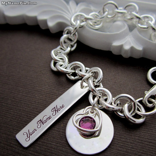 Personalized Charm Heart Necklace With Name