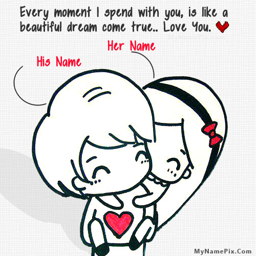 Cutest Love With Name