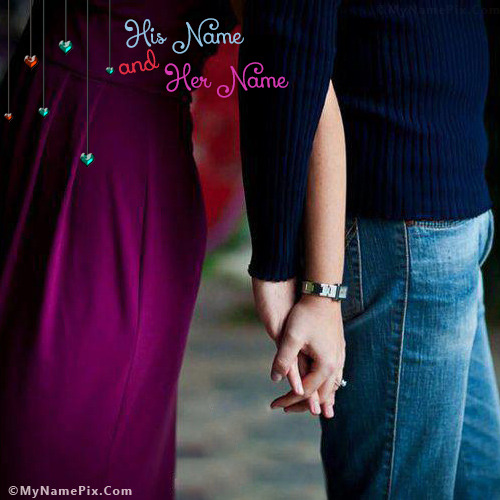Romantic Love With Name