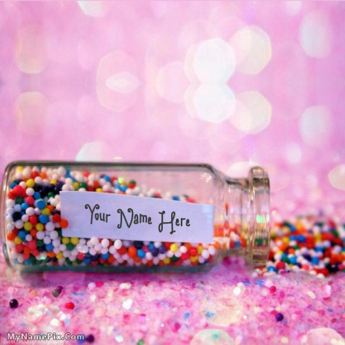 Wish Jar With Name