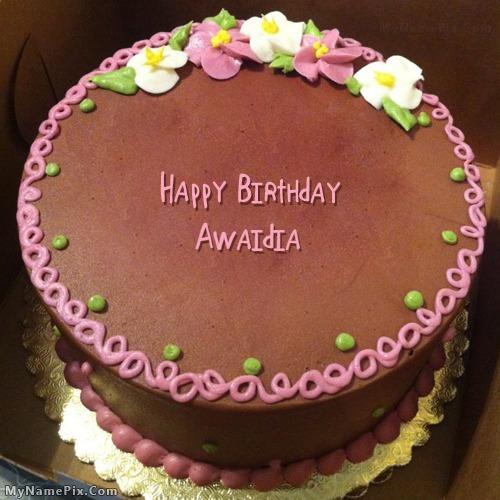 Happy Birthday Awaidia