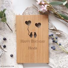 happy birthday hinda