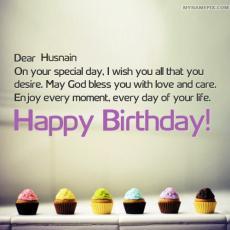 happy birthday husnain