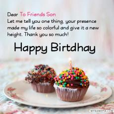 happy birthday to friends son