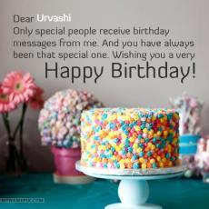 happy birthday urvashi