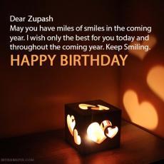 happy birthday zupash